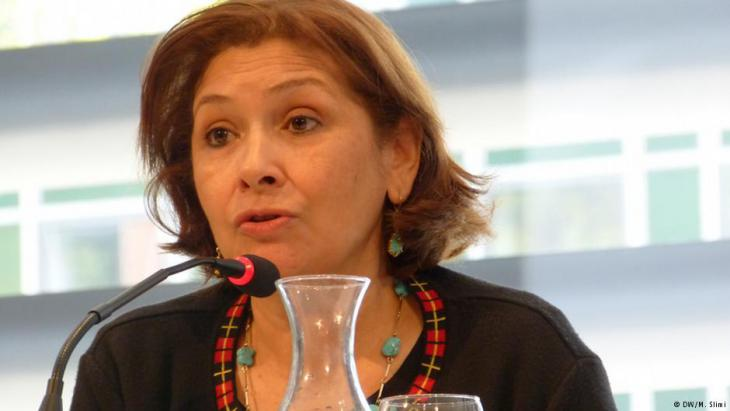 Sihem Bensedrine, head of the Truth and Dignity Commission (photo: IVD)