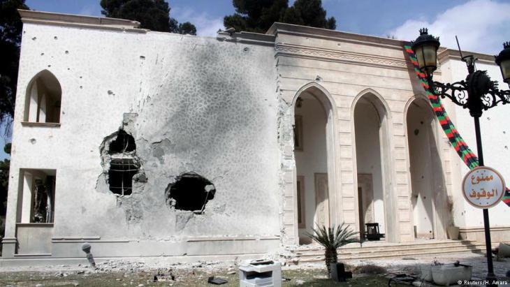 Government building in the Libyan capital Tripoli (photo: Reuters)