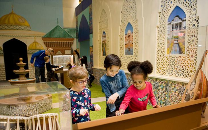CMOM's 'America to Zanzibar' exhibition (source: Children's Museum of Manhattan)