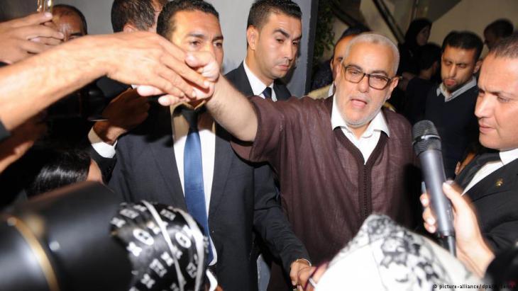 Morocco′s former prime minister Benkirane (photo: picture-alliance/dpa)