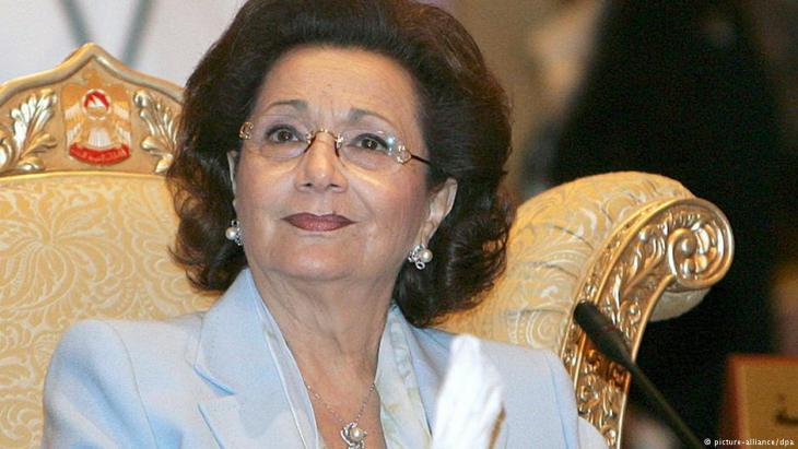 Suzanne Mubarak (photo: picture-alliance/dpa)