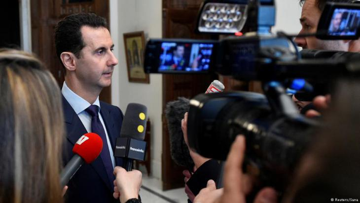 Syria′s President Bashar al-Assad (photo: Reuters)