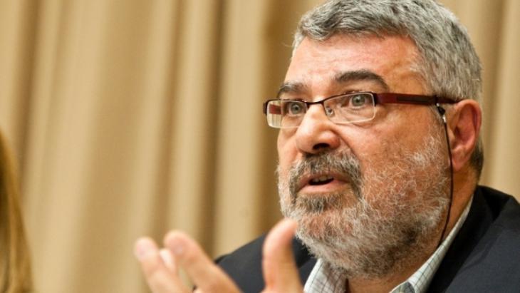 Palestinian Jordanian political scientist and journalist Rami G. Khouri (photo: AP)