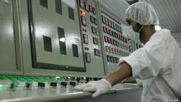Uranium conversion plant near Isfahan in Iran (photo: Getty Images)
