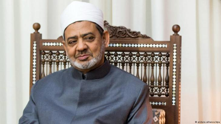 Grand Imam Ahmed Al-Tayeb of Al-Azhar and president of Al-Azhar University in Cairo