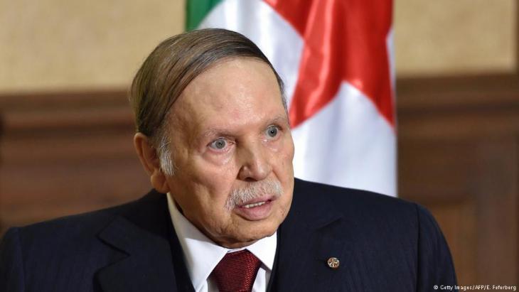 President of Algeria Abdelaziz Bouteflika (photo: Getty Images/AFP)