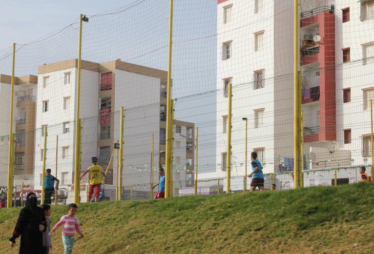 A new residential district on the outskirts of Oran, Algeria (photo: Sofian Philip Naceur)