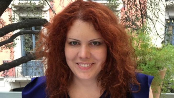 Salafism researcher Nina Kasehage (photo: picture-alliance/N. Kasehage)