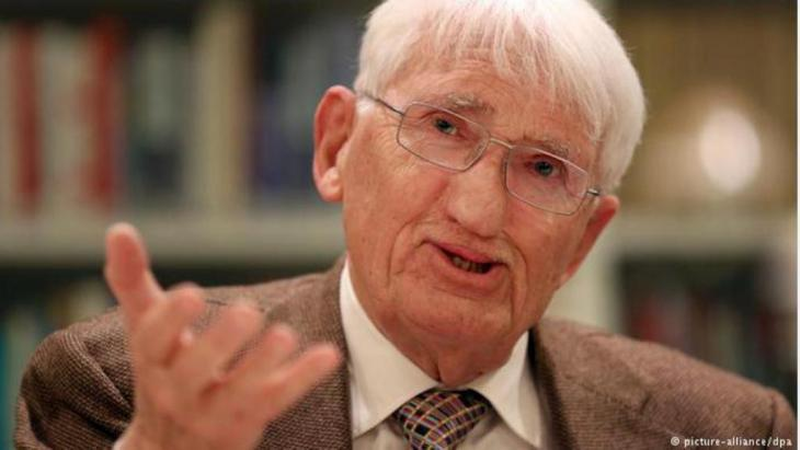 German philosopher Jurgen Habermas (photo: picture-alliance/dpa)
