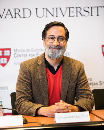 Alexander Goerlach (photo: David Elmes/Harvard University)