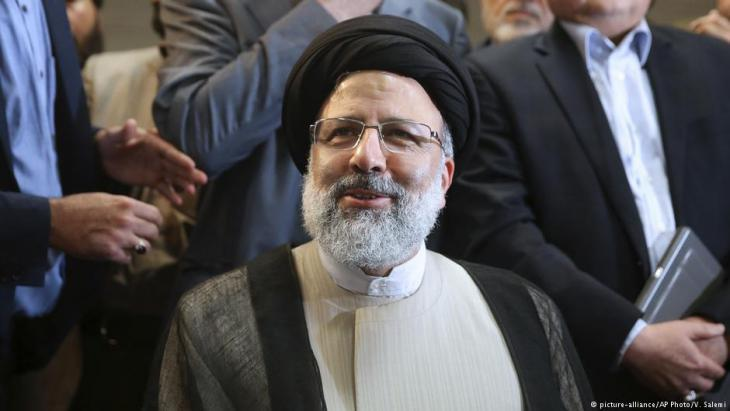 Presidential candidate Ebrahim Raisi (photo: picture-alliance/AP)