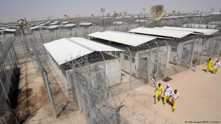Bucca U.S. detention camp in Iraq (photo: AFP/Getty Images)