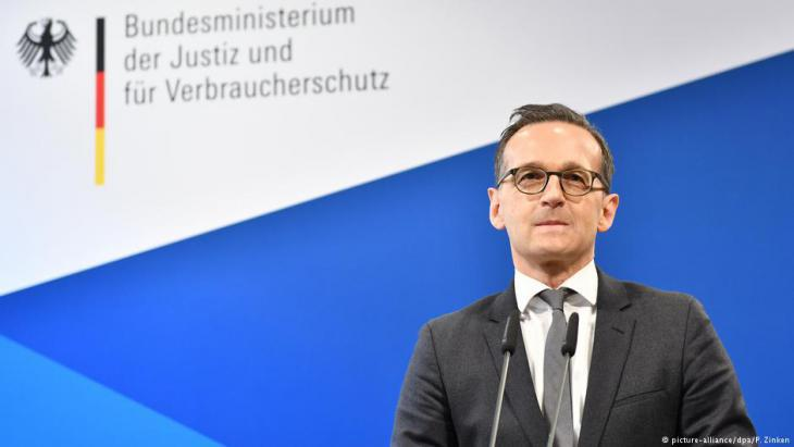 Federal Justice Minister Heiko Maas (photo: picture-alliance/dpa)