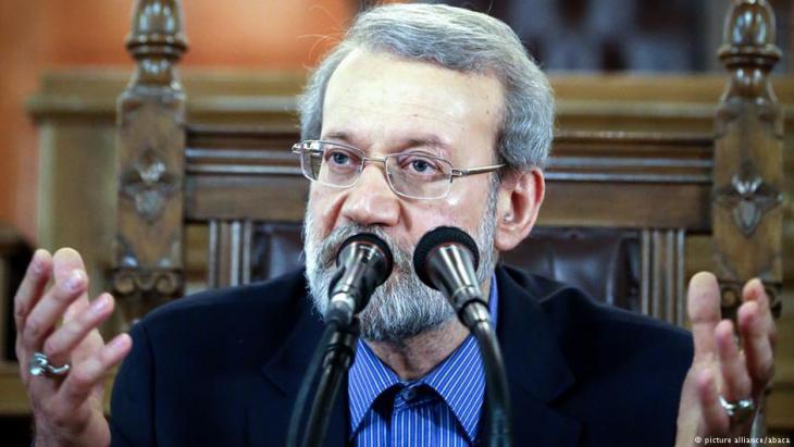 Ali Larijani (photo: picture-alliance/abaca)