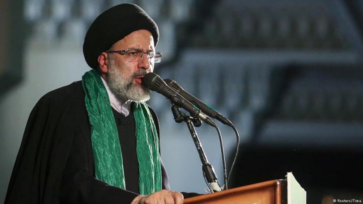 Rouhani challenger Ebrahim Raisi (photo: Reuters)
