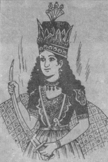 Razia, Sultana of Delhi (source: Raseef22)