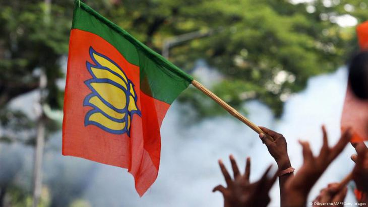 Hindu nationalists demonstrate in Bangalore (photo: AFP/Getty Images)