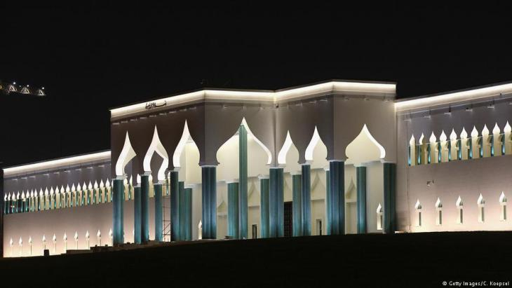 Seat of Qatari government in Doha (photo: Getty Images)