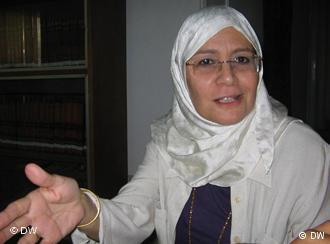 Umaima Abu Bakr (photo: Hani Darwish/DW)