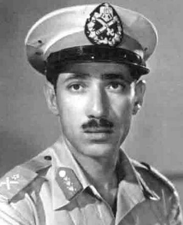 Abdel Hakim Amer in 1955 (photo: Wikimedia)