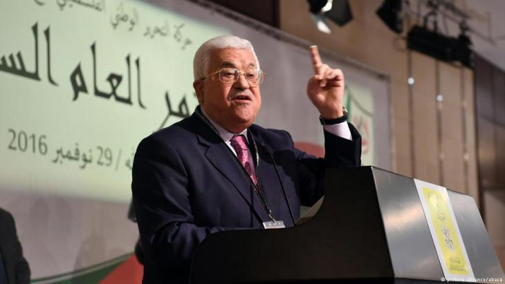 Palestinian President Mahmoud Abbas (photo: picture-alliance)