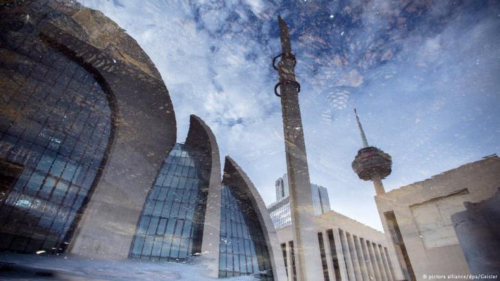 View of the exterior of the DITIB Central Mosque in Cologne (dpa/picture-alliance)
