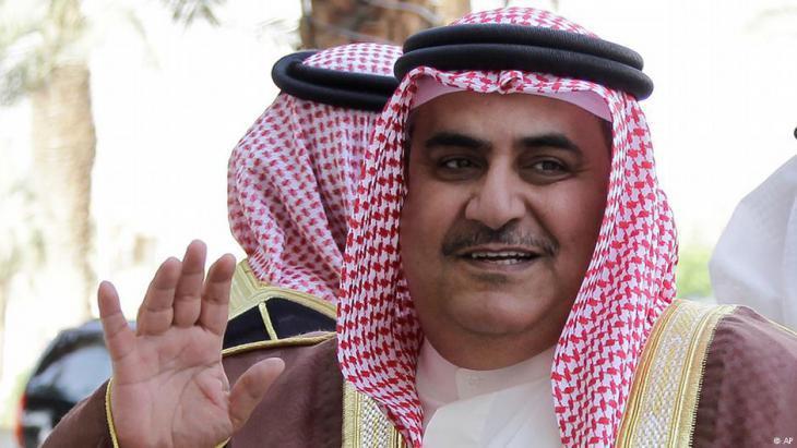 Bahrain′s Foreign Minister Khalid bin Ahmed al-Khalifa (photo: AP)