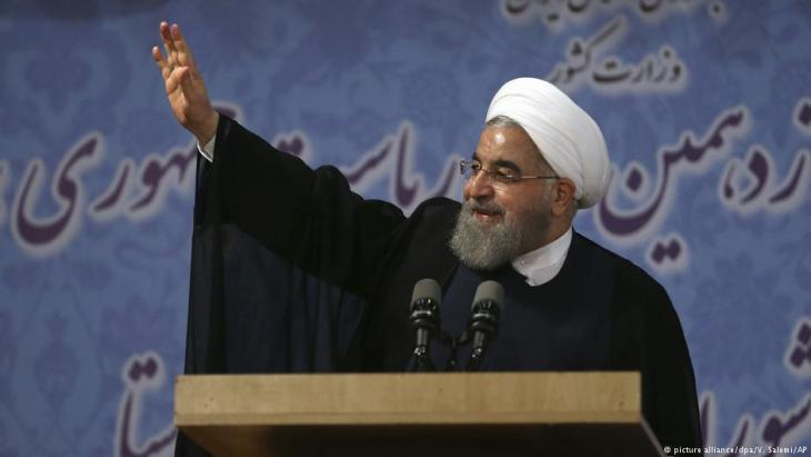 Iran′s President Hassan Rouhani (photo: picture-alliance/dpa/AP)