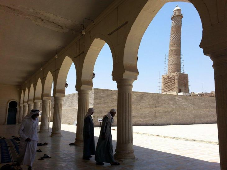 Al-Nuri Mosque prior to its destruction by IS (photo: EPA)