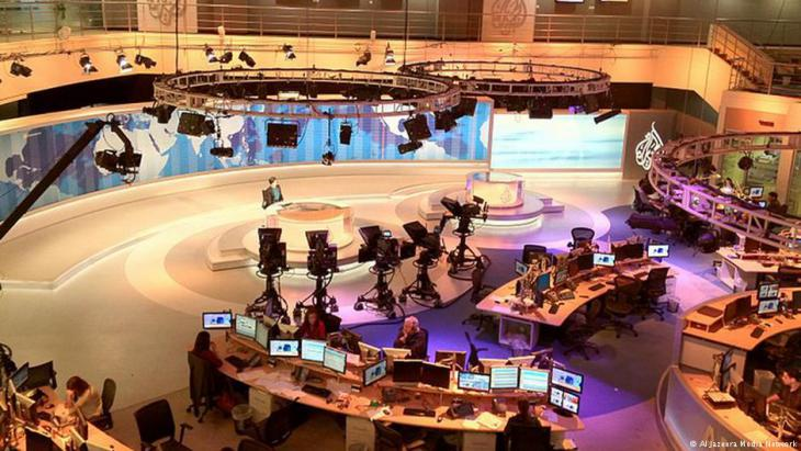 Al Jazeera newsroom (photo: Al Jazeera Media Network)