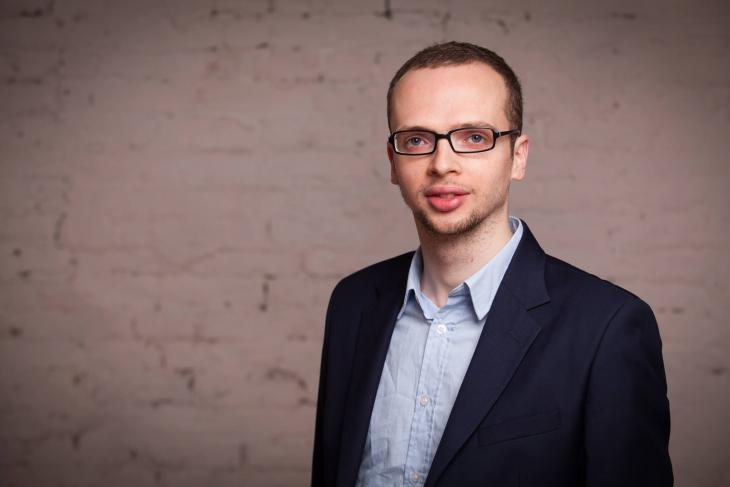 Author and founder of the Salaam-Shalom initiative Armin Langer (photo: Katja Harbi)