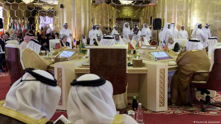 Meeting of the Gulf Cooperation Council in Doha (photo: Reuters)