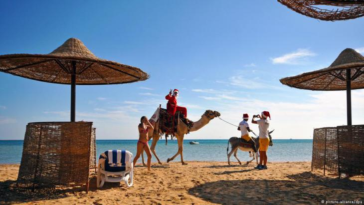Red Sea holiday resort in Egypt (photo: dpa/picture-alliance)