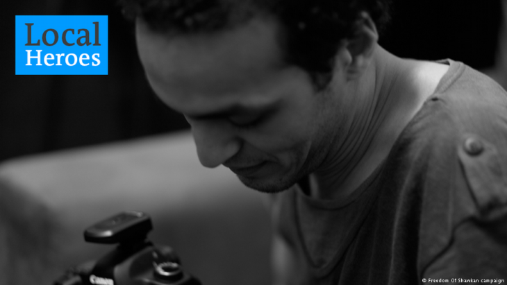 Egyptian ′Freedom of Shawkan/Mahmoud Abu Zeid′ campaign