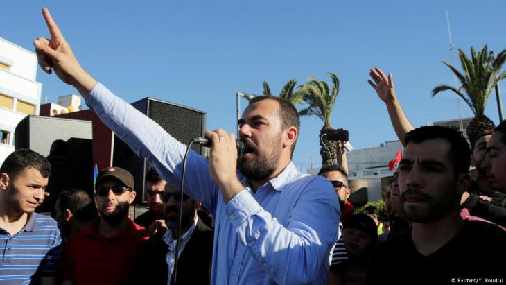 Nasser Zefzafi (photo: Reuters)