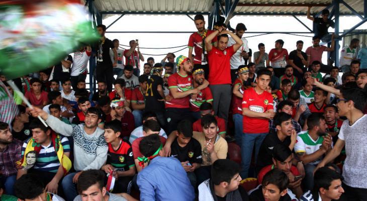 Supporters of the Kurdish football club Amedspor (photo: Fatma Çelik)