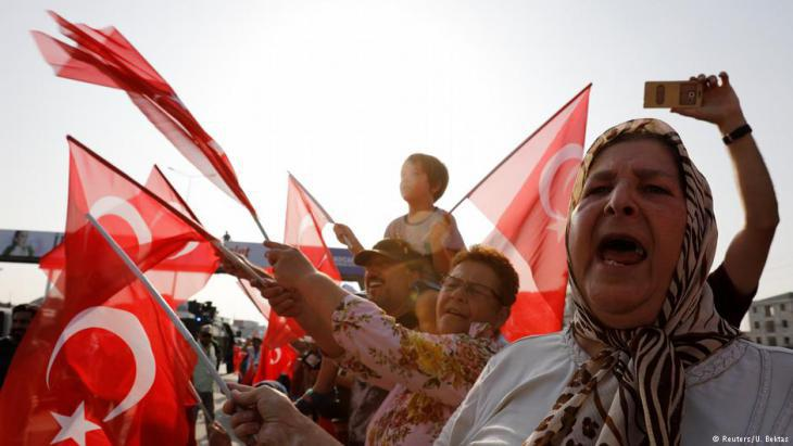 CHP supporters during the Justice March in Berberoglu (photo: Reuters)