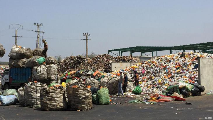 """Attawafouk"", Morocco's first and only co-operative for waste recycling (photo: ARD)"