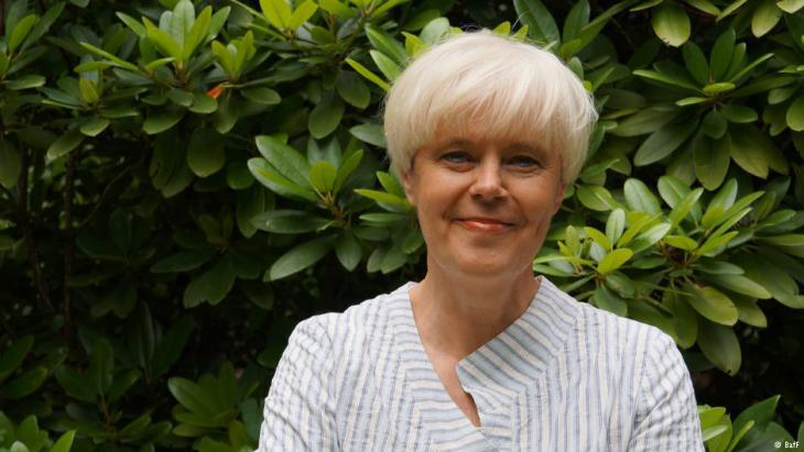 Elise Bittenbinder, chairperson of Germany's federal psychosocial centres for refugees and torture Victims (BAfF) (source: BAfF)