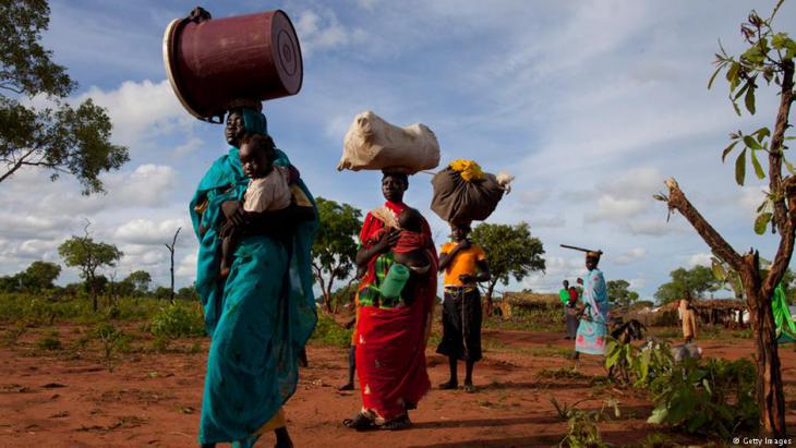 Refugees from the Nuba Mountains in the province of South Kordofan on the border with South Sudan (photo: Getty Images)