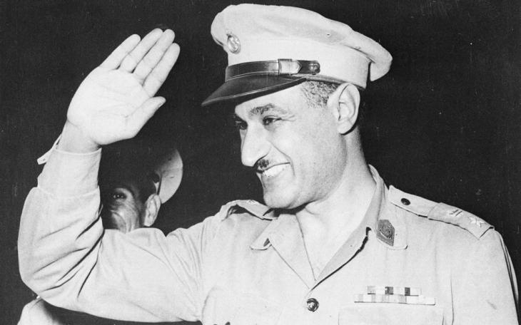 Gamal Abdel Nasser (photo: AP)