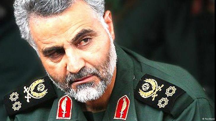 General Qassem Soleimani, head of the Iranian Quds Brigade (photo: Faresnews)