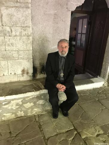 Father Nikolla of Elbasan (photo: DW)