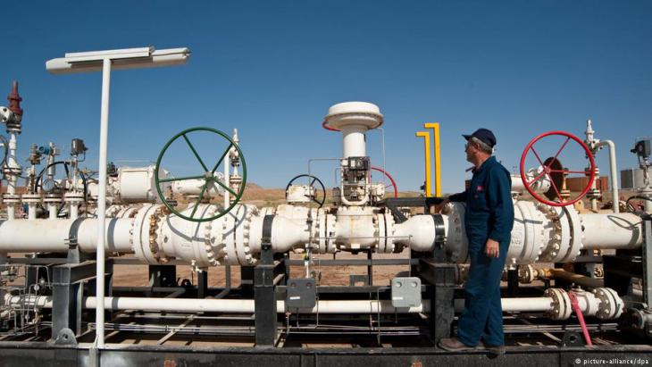 Takwe oilfield in Iraqi Kurdistan supplies Turkey (photo: picture-alliance/dpa)