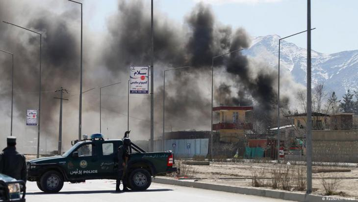 Taliban attack in Kabul, Afghanistan, 01.03.2017 (photo: Reuters/Mohammed Ismail)