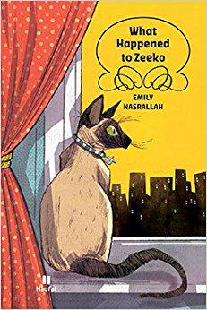 """Cover of Emily Nasrallah's """"What happened to Zeeko"""" (published by Naufal / Hachette Antoine)"""