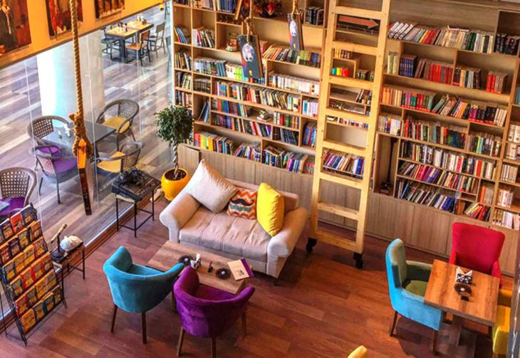 Erbil's Book Cafe (source: raseef22)