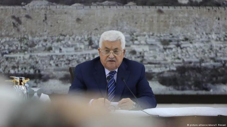 Palestine′s President Mahmoud Abbas (photo: picture-alliance/abaca)
