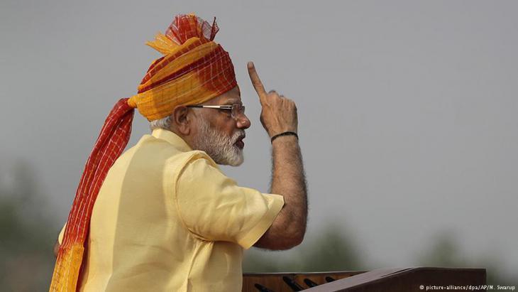 Indian Prime Minister Narendra Modi (photo: picture-alliance/dpa)