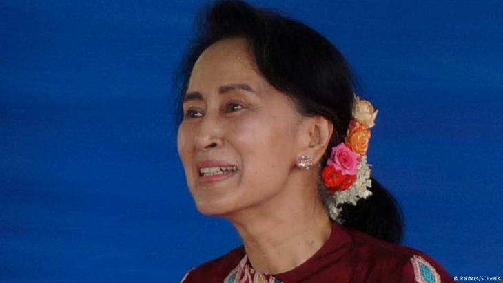 Myanmar's State Counsellor Aung San Suu Kyi (photo: Reuters/Simon Lewis)